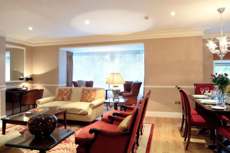 livingroom lighting design